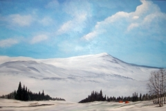 Årefjell-winter-acryl