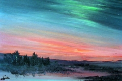 Abendhimmel-aqryl