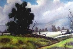 Berglandschaft-acryl