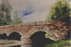 Brücke-aquarell