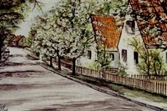 Helbra-Strasse-Frühjahr-aquarell