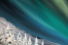Nordlicht-blau-grün-acryl
