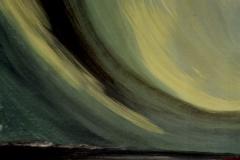 Nordlicht-grün-grün