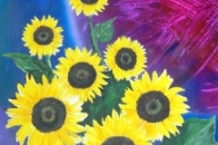 Symbiose-Sonnenblumen