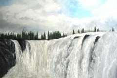 Wasserfall-Acryl