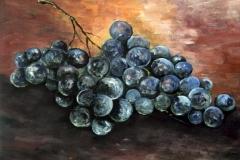 Weintrauben-rot-acryl
