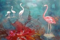 otto-symbiose-Flamingos