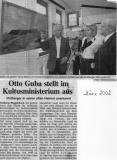 Otto Guba Im Kultusministerium
